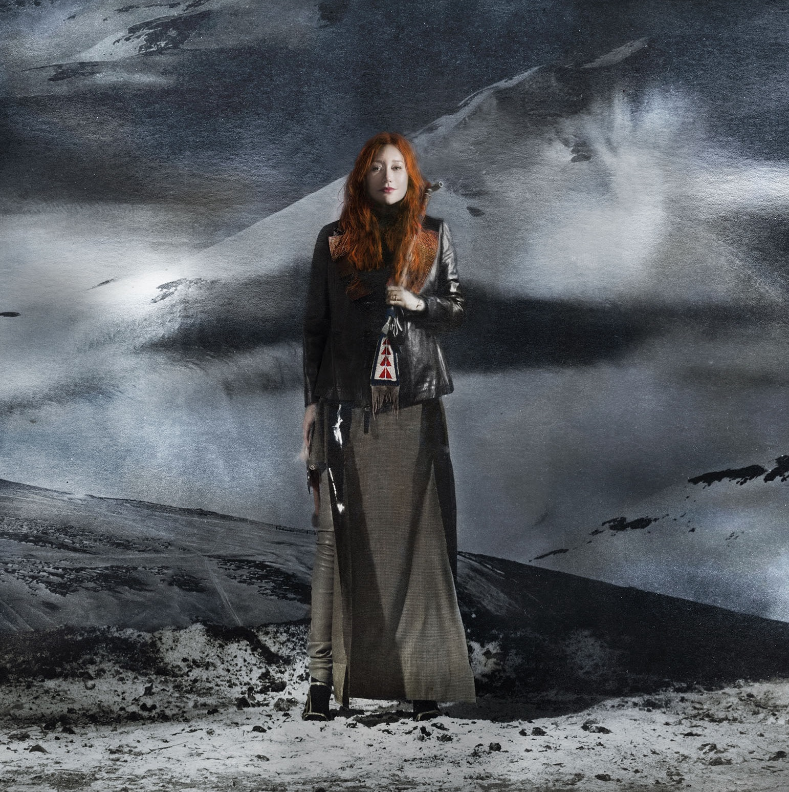 photoshoot picture of Tori Amos for her album Native Invader